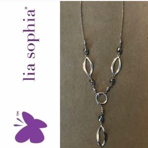 New Lia Sophia Necklace Silver